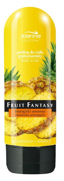 Joanna Fruit Fantasy Peeling gruboziarnisty Hawajski ananas 200ml