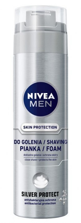 NIVEA MEN Pianka do golenia SILVER