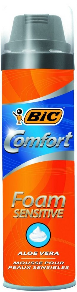 Bic Pianka do golenia BIC COMFORT SENSITIVE 250ml