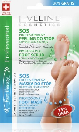Eveline Maseczka+peeling do stóp FOOT THERARY 6mlx2