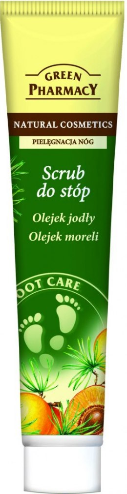Green Pharmacy Scrub do stóp Olejek jodły i moreli