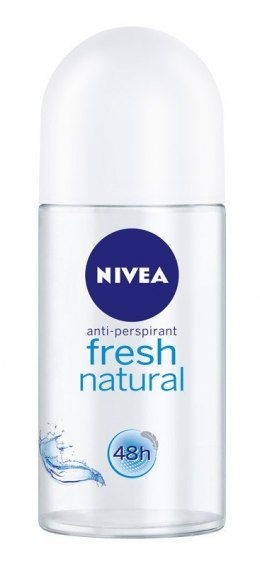 Nivea Dezodorant FRESH NATURAL roll-on damski 50ml