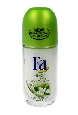 Fa Fresh & Dry Green Tea 48H Dezodorant roll-on 50 ml