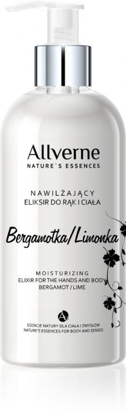 Allvernum Nature's Essences Eliksir do rąk i ciała Bergamotka & Limonka 300ml