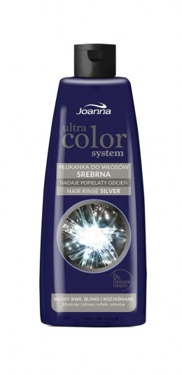 Joanna Ultra Color System Płukanka do włosów srebrna 150ml