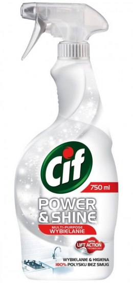 Cif Power & Shine Spray wybielający 750ml