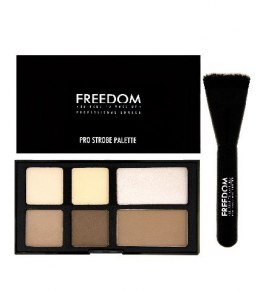 FREEDOM Pro Strobe Palette With Brush - Paleta do konturowania
