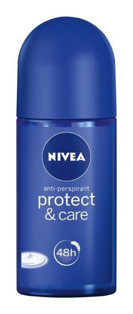Nivea Dezodorant PROTECT & CARE roll-on damski 50ml