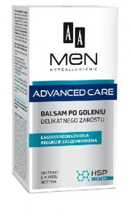 AA Men Adventure Care Balsam po goleniu delikatnego zarostu 100ml