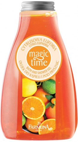 Farmona Magic Time Cytrusowa Euforia Olejek do kąpieli i pod prysznic 425ml