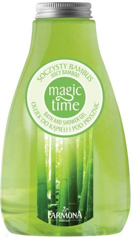 Farmona Magic Time Soczysty Bambus Olejek do kąpieli i pod prysznic 425ml