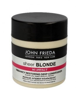 John Frieda Sheer Blonde Maska odbudowująca do włosów blond Hi-Impact 150ml new