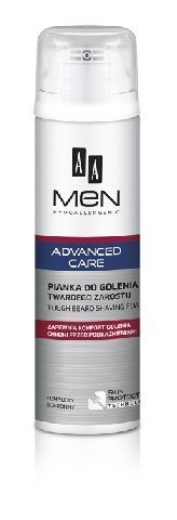 AA Men Adventure Care Pianka do golenia twardego zarostu 250ml