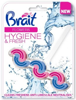 Brait Kostka toaletowa 2-fazowa do WC Flowers 45g
