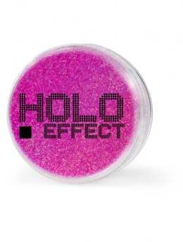 Euro Fashion Brokat Holo Effect nr 3 pink 1szt