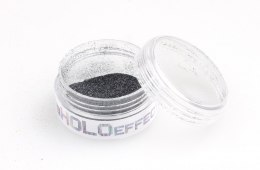 Euro Fashion Brokat Holo Effect nr 8 black 1szt