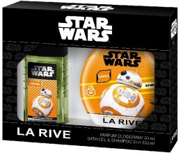 La Rive Disney Star Wars Droid Zestaw /deo perf.80ml+żel 2w1 250ml/