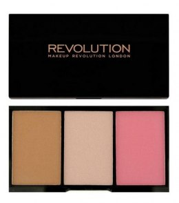 Makeup Revolution Iconic Blush Bronze & Brighten Zestaw do konturowania Smoulder 11g
