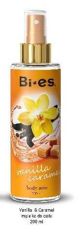Bi-es Body Mist Mgiełka do ciała Vanilla - Caramel 200ml