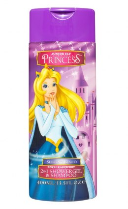 Disney Princess Sleeping Beauty Żel pod prysznic + szampon 2w1 400ml