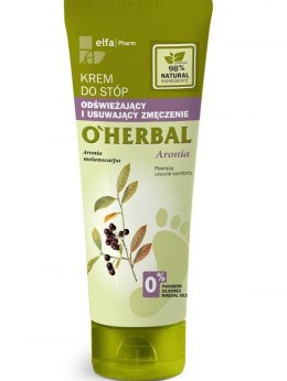 Elfa Pharm O'Herbal Krem do stóp odświeżający Aronia 75ml