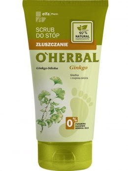 Elfa Pharm O'Herbal Scrub do stóp Miłorząb Japoński 150ml