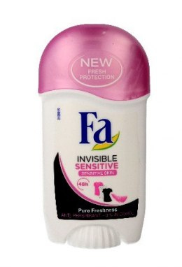 Fa Invisible Sensitive 48H Dezodorant w sztyfcie 50ml
