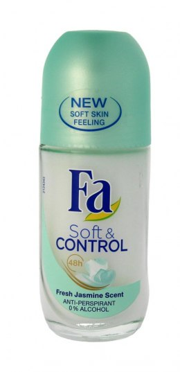 Fa Soft & Control Dezodorant roll-on Jasmine Scent 50ml