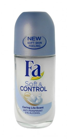 Fa Soft & Control 48H Dezodorant roll-on Caring Lila Scent 50ml