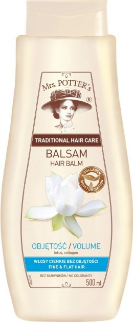 Mrs Potters Balsam do włosów Lotos i Kolagen 500ml