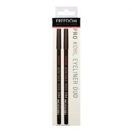 FREEDOM Pro Kohl Eyeliner Black Duo