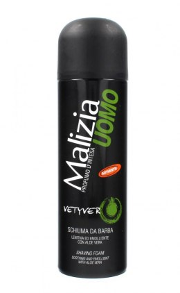 Malizia Uomo Vetyver Pianka do golenia 300ml