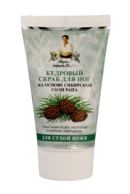 Receptury Babci Agafii Scrub do stóp cedrowy 150ml