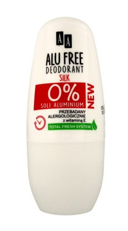 AA Dezodorant roll-on Alu Free Silk 50ml