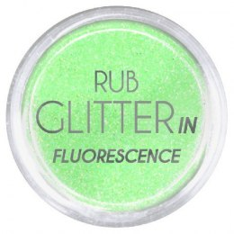 Euro Fashion Brokat Rub Glitter In Fluorescence nr 1 1szt