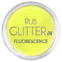 Euro Fashion Brokat Rub Glitter In Fluorescence nr 2 1szt