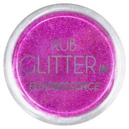 Euro Fashion Brokat Rub Glitter In Fluorescence nr 5 1szt