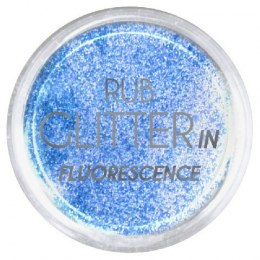 Euro Fashion Brokat Rub Glitter In Fluorescence nr 6 1szt