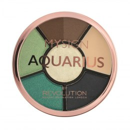 Makeup Revolution My Sign Complete Eye Base Zestaw do makijażu oczu i brwi Aquarius 1szt