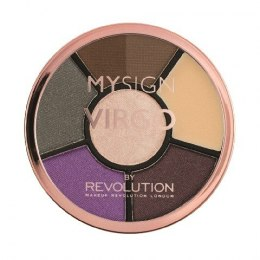 Makeup Revolution My Sign Complete Eye Base Zestaw do makijażu oczu i brwi Virgo 1szt