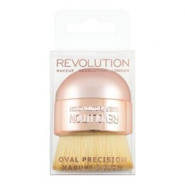 Makeup Revolution Oval Precision Kabuki Brush Pędzel do makijażu