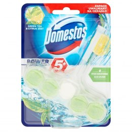 Domestos Green Tea & Citrus Kostka WC Power 5+ koszyk 55g