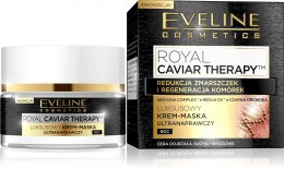 Eveline Royal Caviar Therapy 50+ Krem-maska ultranaprawczy na noc 50ml