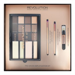 Makeup Revolution Pro Brow Amplification Kit Zestaw do makijażu brwi 1 op.