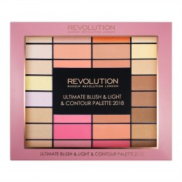 Makeup Revolution Ultimate Blush & Light & Contour Palette Zestaw do makijażu 1op-85g