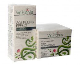 Vis Plantis Age Killing Effect DUO (krem na noc 50ml+serum 30ml)