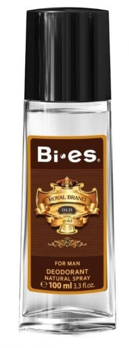 Bi-es Royal Brand Gold Dezodorant w szkle 100ml