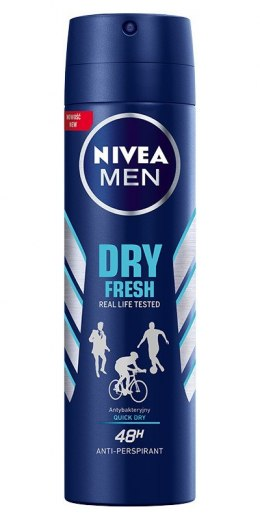 Nivea Dezodorant DRY FRESH spray męski 150ml