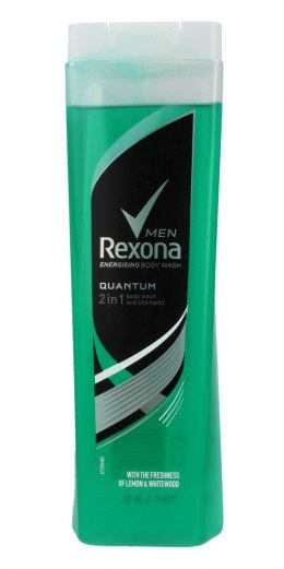 REXONA ŻEL P/P 250ML.MEN QUANT 2W1&