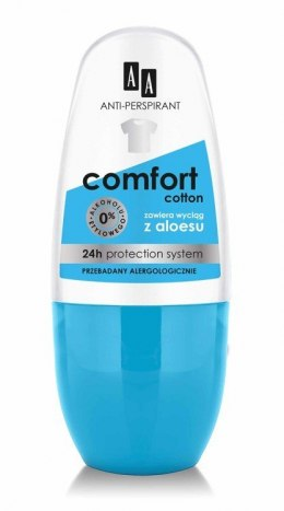 AA Dezodorant roll-on Comfort Cotton 50ml
